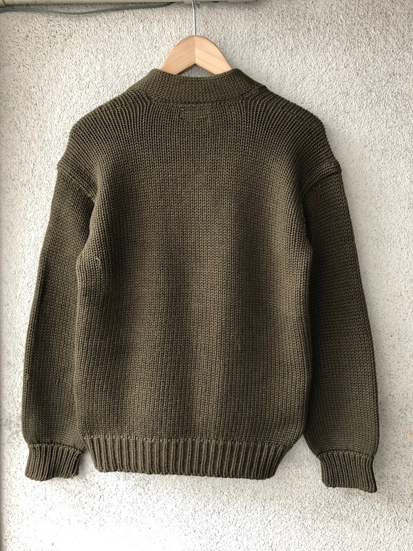 WWⅡ U.S.A.A.F. A-1 V Neck Sweater_c0146178_14002473.jpg