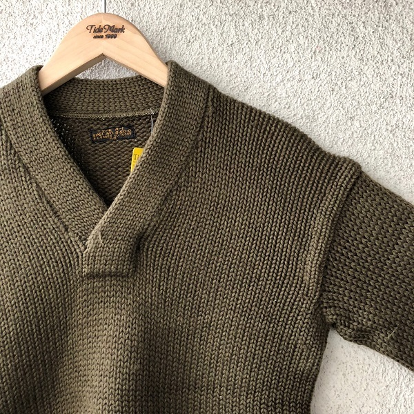 WWⅡ U.S.A.A.F. A-1 V Neck Sweater_c0146178_14005012.jpg