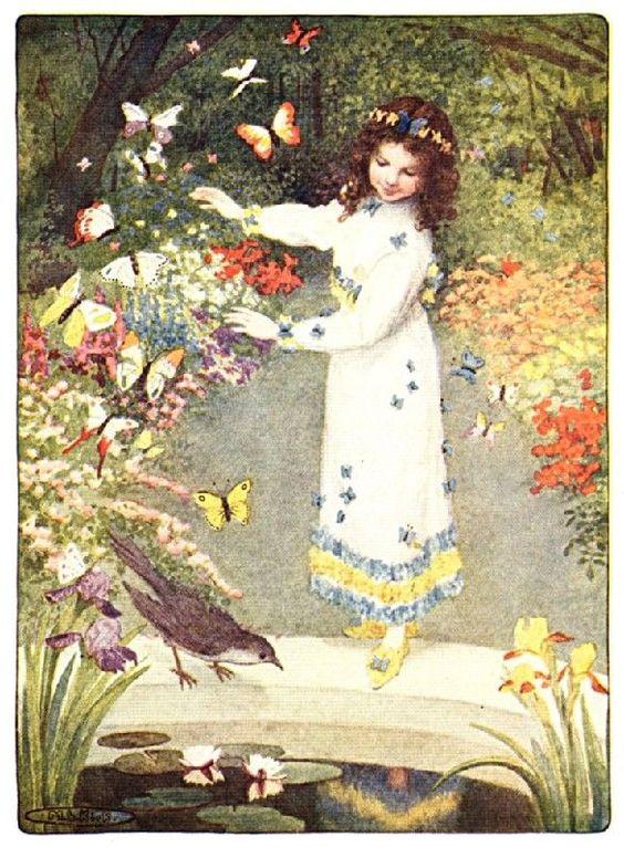 Maria L. Kirk画:The Cuckoo Clockから_c0084183_914568.jpg