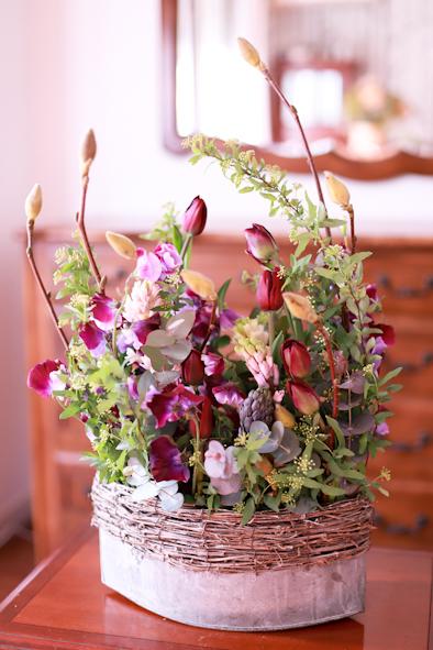幸せな花贈り_b0208604_21053377.jpg