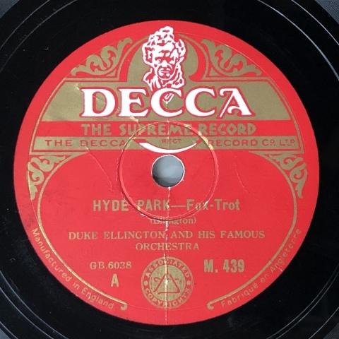 SPレコード入荷しました その2 テイタム、エリントン等_a0047010_18293793.jpg