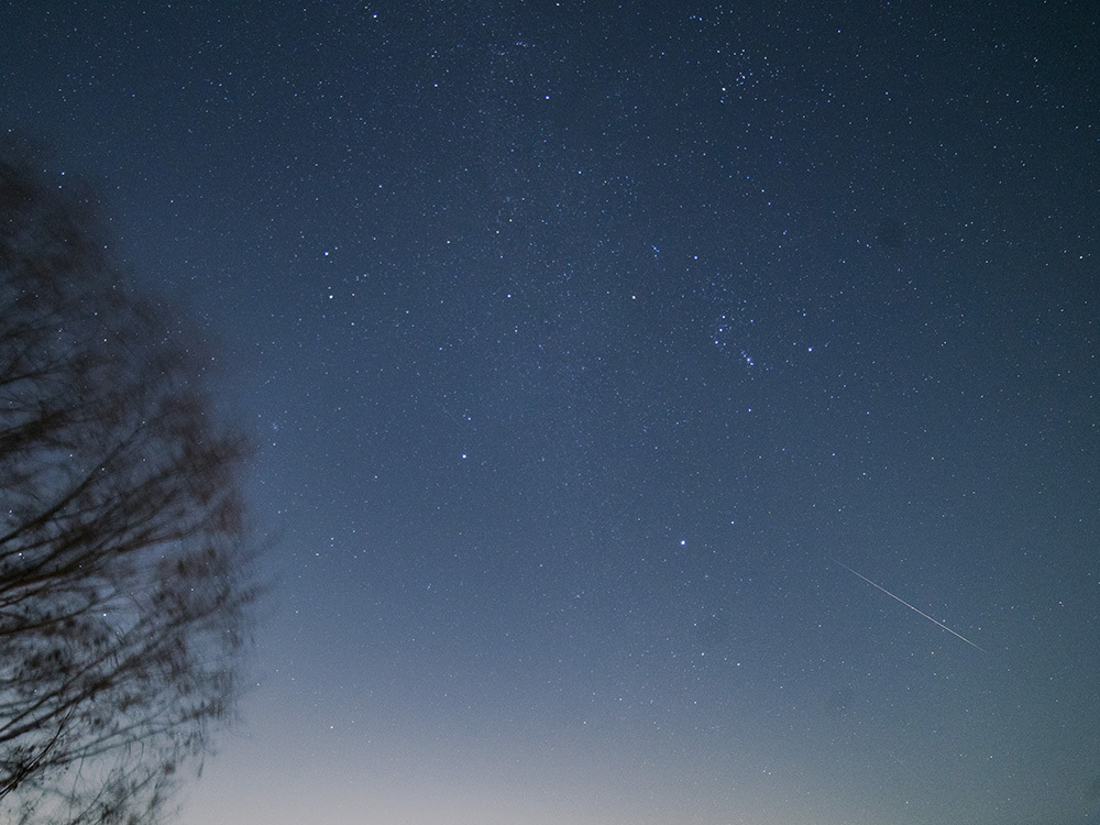 ふたご座流星群 願いを込めて…_f0324026_06552782.jpg