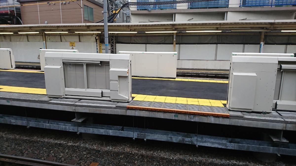 代々木八幡駅 島式新ホームがほぼ出来上がっていた_a0332275_23511454.jpg