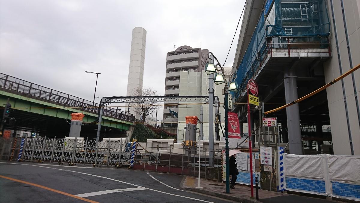 代々木八幡駅 島式新ホームがほぼ出来上がっていた_a0332275_23543164.jpg
