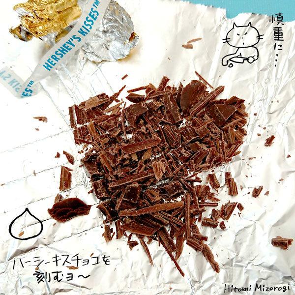 トランスフォームドーナツ その3:「ハーシーチョコドーナツ」が「ハーシー&ヌテラ ダブルチョコレートドーナツ」に変身!_d0272182_21214758.jpg