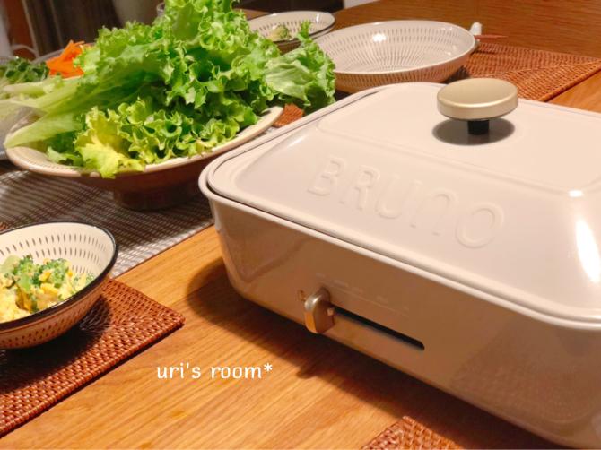わが家の2代目ブルーノ!…で、野菜をいっぱい食べる焼肉ヽ(´▽`)/_a0341288_23414746.jpg