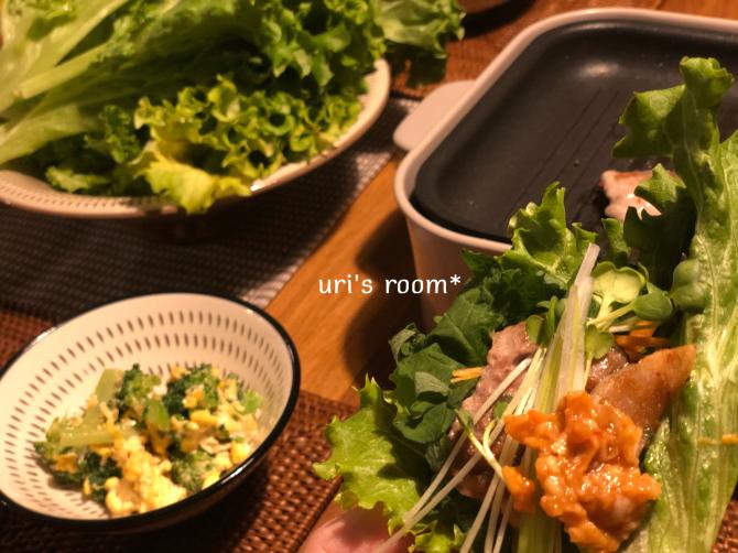 わが家の2代目ブルーノ!…で、野菜をいっぱい食べる焼肉ヽ(´▽`)/_a0341288_23550058.jpg