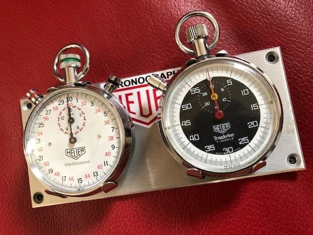 Stopwatch  HEUER  /   ラリー仕様にはダッシュボードに!_b0195093_15181942.jpg