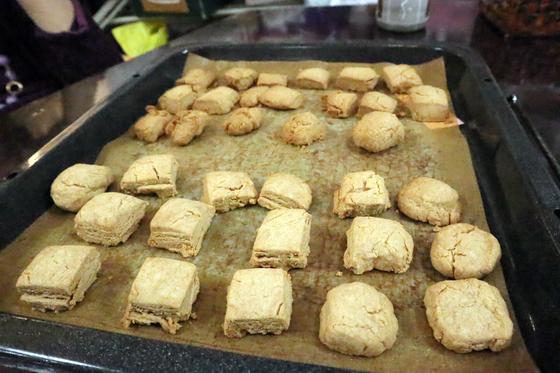 パンレク ~ あんこときな粉のクッキー ~_e0222340_15425970.jpg