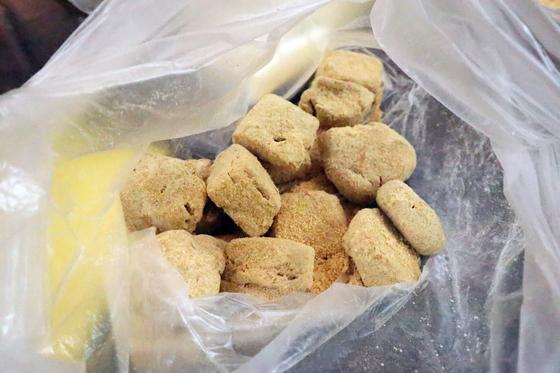 パンレク ~ あんこときな粉のクッキー ~_e0222340_154611100.jpg