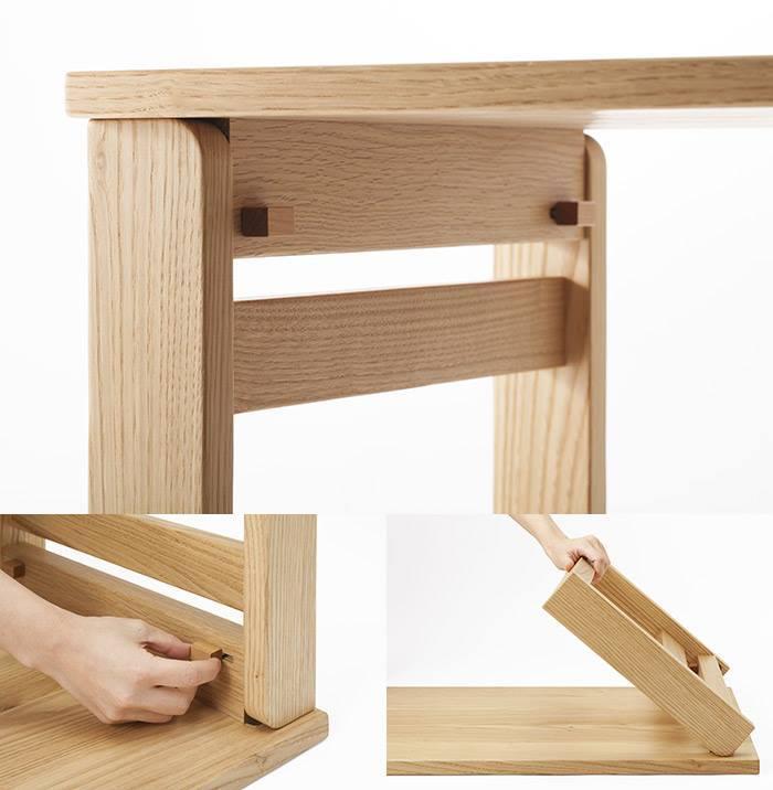 おすすめ家具!折り畳み小机とハンガーラック_b0211845_13314723.jpg
