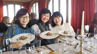 教室ツアーin Piemonte5日目② 贅沢に白トリュフ三昧ランチ!!!_d0041729_22040887.jpg