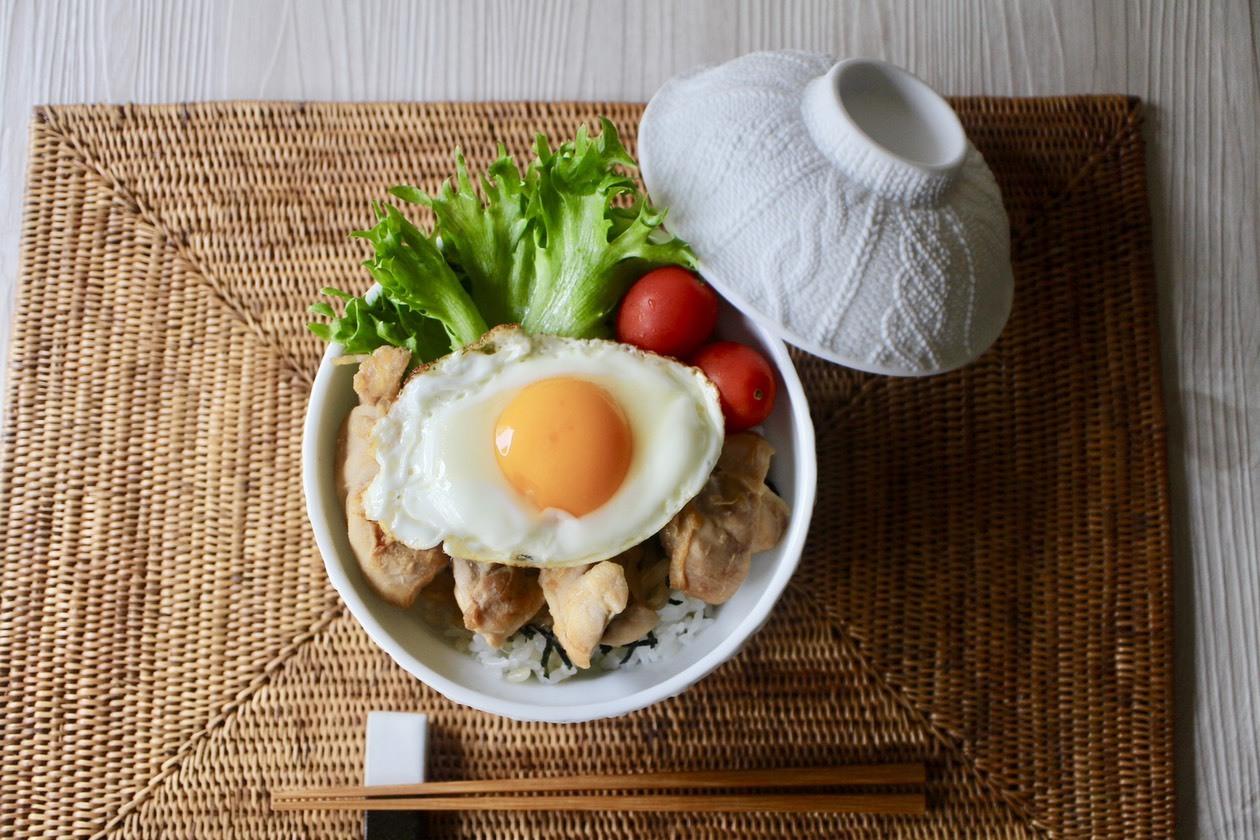 てりたまチキン丼_f0220354_10204697.jpeg