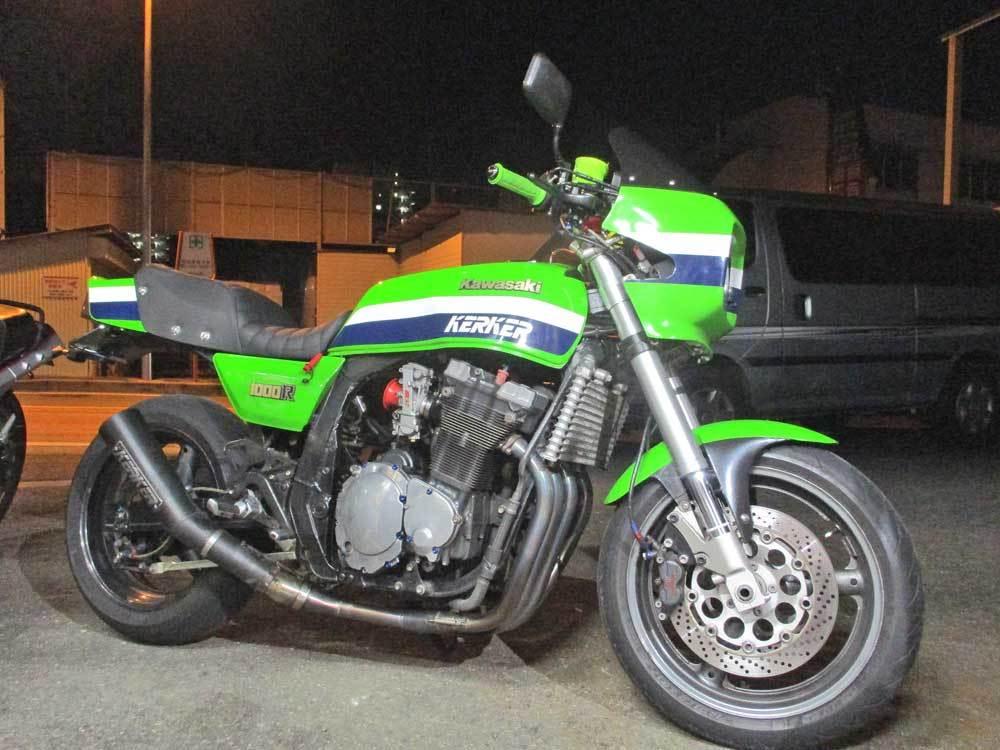 油冷 GSX-R1100のチェーン交換で520コンバート化・・・(^^♪_c0086965_00121867.jpg