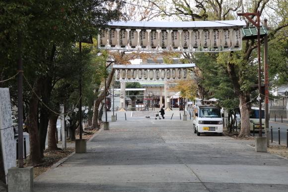 なまくにたましいじんじゃ の辺 (大阪市)_c0001670_21163808.jpg