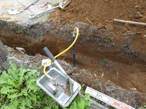 2019年1月22日 2019年年賀状 つくば市上の室土浦電子水道管引込み工事 その12_d0249595_16185381.jpg