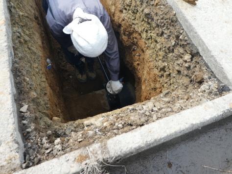 2019年1月22日 2019年年賀状 つくば市上の室土浦電子水道管引込み工事 その12_d0249595_16213129.jpg