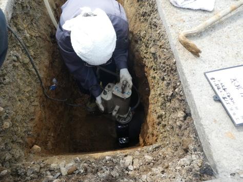 2019年1月22日 2019年年賀状 つくば市上の室土浦電子水道管引込み工事 その12_d0249595_16224516.jpg