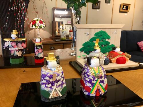 ひな人形展を山陽新聞の記事に取り上げていただきましたぁ〜(╹◡╹)_a0071934_11263161.jpg