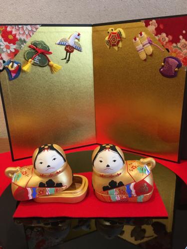 ひな人形展を山陽新聞の記事に取り上げていただきましたぁ〜(╹◡╹)_a0071934_11263248.jpg