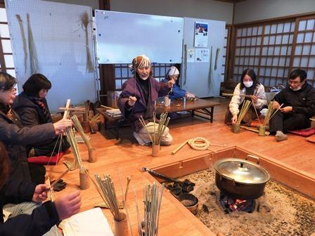 米作り7・わらづと納豆を作ろう_a0123836_14341430.jpg