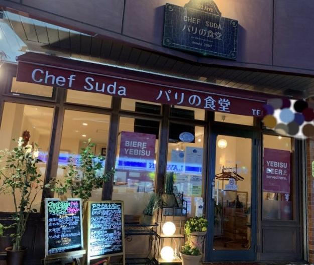 カジュアルフレンチの美味しいお店   パリの食堂_a0359239_01280991.jpg