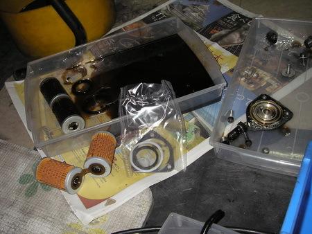 BMW  R100GS   継続検査と軽整備_e0218639_12271702.jpg