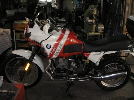 BMW  R100GS   継続検査と軽整備_e0218639_12271734.jpg