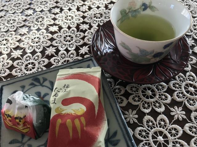 新年の和菓子でお茶時間_a0180279_19080585.jpg