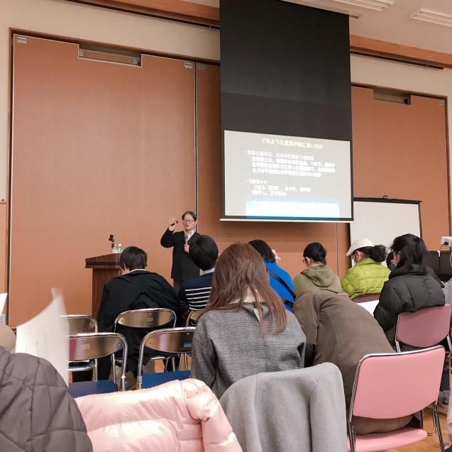 小児科医 本間真二郎先生の講義でした!_b0176010_22032459.jpg