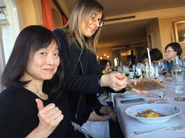教室ツアーin Piemonte5日目② 贅沢に白トリュフ三昧ランチ!!!_d0041729_10535399.jpg