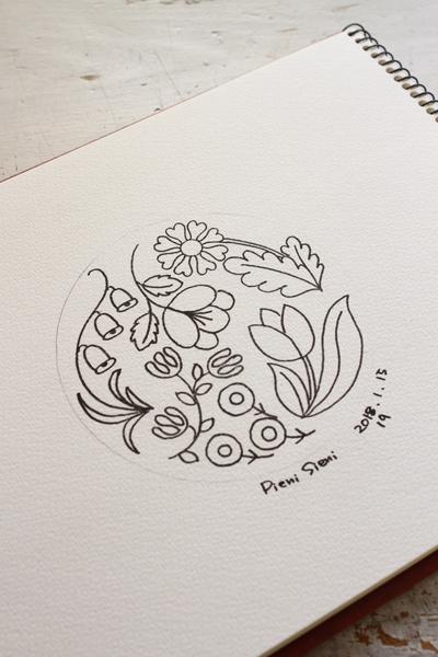 急遽制作する事になった刺繍のデザイン画_e0333647_07283955.jpg