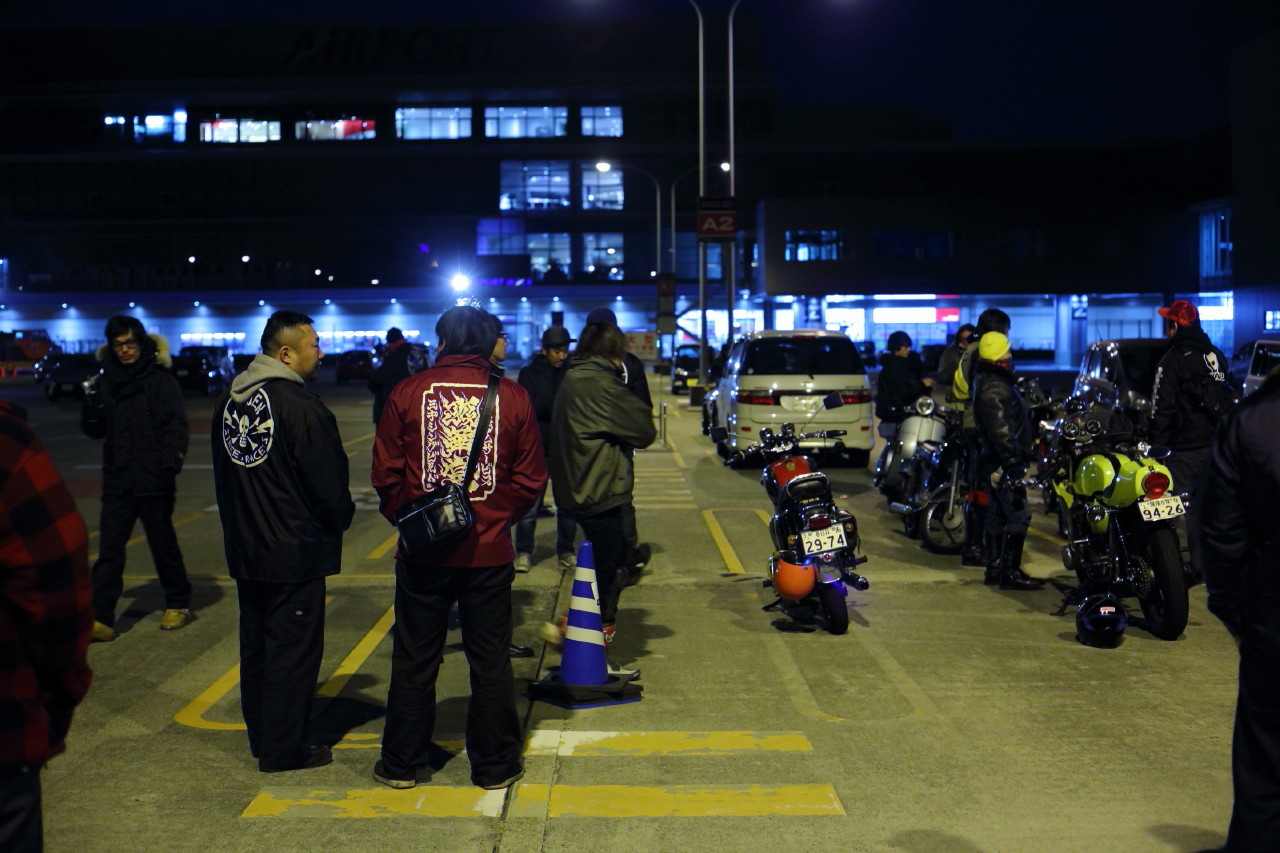ラビットスクーターとトンガリテントと夜会_b0078651_01134702.jpg