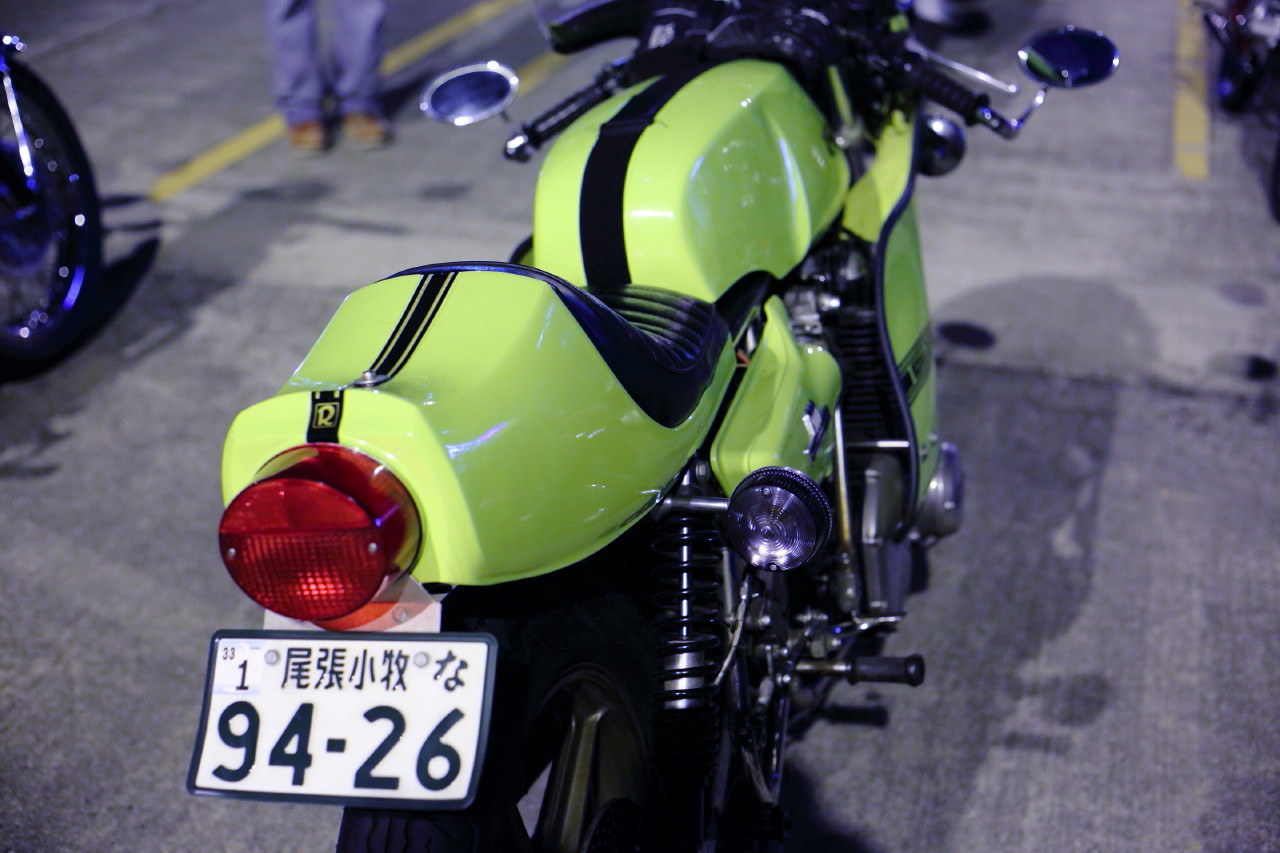 ラビットスクーターとトンガリテントと夜会_b0078651_01140720.jpg