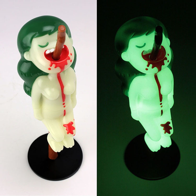 """MIMI The Cannibal Girl\"" Mondo Green Ghost Edition by Utomaru_e0118156_12421223.jpg"