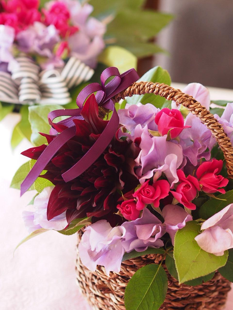 春のお花でアレンジメント_d0144095_17403292.jpg