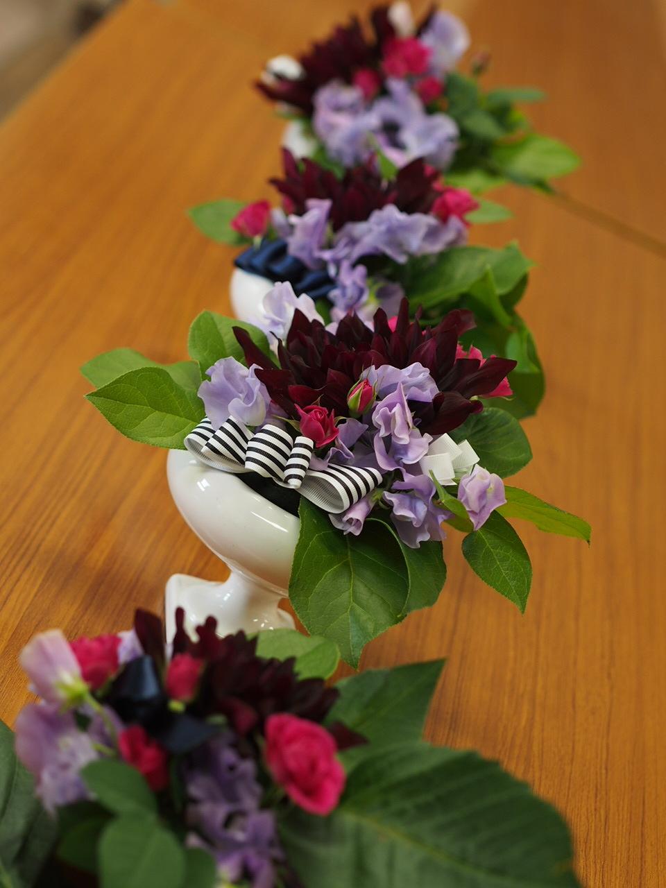 春のお花でアレンジメント_d0144095_17445409.jpg