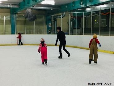 アイススケート初体験_e0145332_17033105.jpg