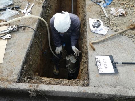 2019年1月23日 2019年年賀状 つくば市上の室土浦電子水道管引込み工事 その13_d0249595_16372355.jpg