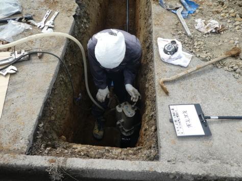 2019年1月23日 2019年年賀状 つくば市上の室土浦電子水道管引込み工事 その13_d0249595_16374983.jpg