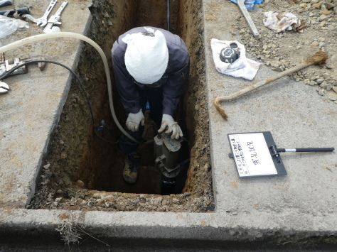 2019年1月23日 2019年年賀状 つくば市上の室土浦電子水道管引込み工事 その13_d0249595_16381540.jpg