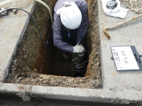 2019年1月23日 2019年年賀状 つくば市上の室土浦電子水道管引込み工事 その13_d0249595_16385900.jpg