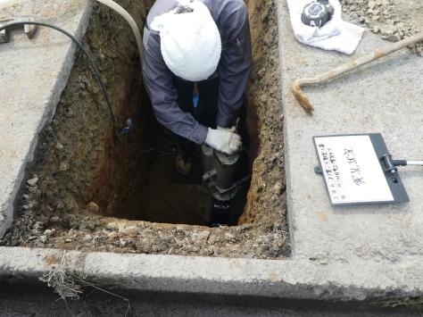 2019年1月23日 2019年年賀状 つくば市上の室土浦電子水道管引込み工事 その13_d0249595_16392644.jpg