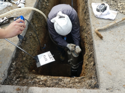 2019年1月23日 2019年年賀状 つくば市上の室土浦電子水道管引込み工事 その13_d0249595_16394756.jpg