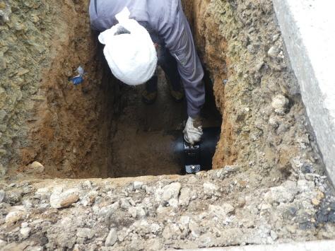 2019年1月24日 2019年年賀状 つくば市上の室土浦電子水道管引込み工事 その14_d0249595_17001975.jpg