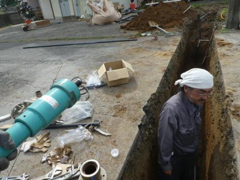 2019年1月24日 2019年年賀状 つくば市上の室土浦電子水道管引込み工事 その14_d0249595_17004328.jpg