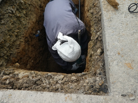 2019年1月24日 2019年年賀状 つくば市上の室土浦電子水道管引込み工事 その14_d0249595_17012712.jpg