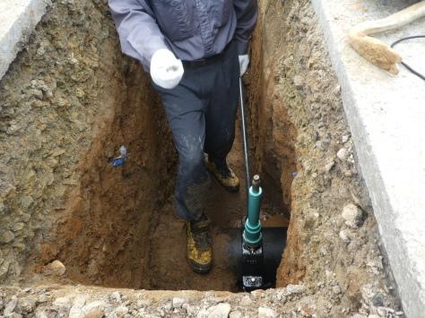 2019年1月24日 2019年年賀状 つくば市上の室土浦電子水道管引込み工事 その14_d0249595_17021677.jpg