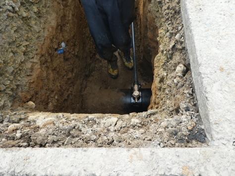 2019年1月25日 2019年年賀状 つくば市上の室土浦電子水道管引込み工事 その15_d0249595_17232661.jpg