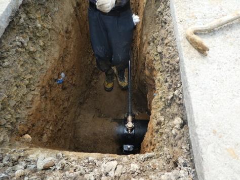 2019年1月25日 2019年年賀状 つくば市上の室土浦電子水道管引込み工事 その15_d0249595_17235926.jpg